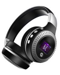 Casque Audio Bluetooth B19 avec radio FM, carte SD et micro