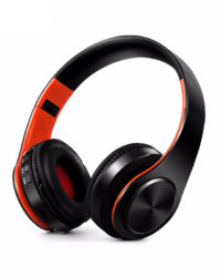 Casque Audio Mp3 Bluetooth Pliable avec carte SD et micro